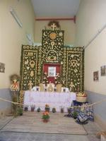 mostra Borgesi di San Giuseppe - altare e pani - 22 aprile 2012  - Calatafimi segesta (598 clic)