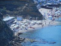 Spiaggia di Ponente dal Belvedere - 26 agosto 2012  - Balestrate (824 clic)