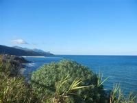 Golfo di Castellammare panorama del golfo dalla periferia est della città - 11 gennaio 2014  - Castellammare del golfo (1913 clic)