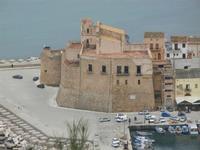 panorama dal Belvedere - Castello a Mare - 12 febbraio 2012  - Castellammare del golfo (650 clic)