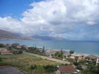 Zona Plaja - panorama ovest del Golfo di Castellammare - 24 luglio 2012  - Alcamo marina (309 clic)