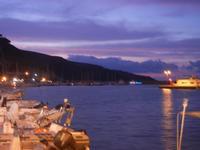 al porto - a sera - 6 settembre 2012  - Castellammare del golfo (707 clic)