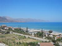 Zona Plaja - panorama ovest del Golfo di Castellammare - 31 luglio 2012  - Alcamo marina (289 clic)