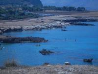 scogliera e mare Golfo del Cofano - 23 agosto 2012  - Macari (285 clic)