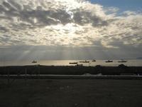 timidi raggi di sole sul mare - 15 gennaio 2012  - Nubia (485 clic)