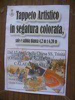 locandina Tappeto Artistico - 22 aprile 2012  - Calatafimi segesta (466 clic)