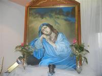 quadro Madonna della Confusione a casa di Angela e Francesco Pecoraro - 24 maggio 2012  - Alcamo (1860 clic)