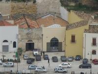panorama dal Belvedere - case sul porto - 12 febbraio 2012  - Castellammare del golfo (456 clic)