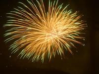 spettacolo pirotecnico - festeggiamenti in onore di Maria SS. dei Miracoli - 21 giugno 2012  - Alcamo (332 clic)