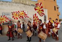 Contrada MATAROCCO - 5ª Rassegna del Folklore Siciliano - 5ª Sagra Saperi e Sapori di . . . Matarocco - 2° Festival Internazionale del Folklore - 5 agosto 2012 - Foto di NICOLO' PECORARO  - Marsala (394 clic)