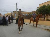 SPERONE - sfilata di cavalli - festa San Giuseppe Lavoratore - 29 aprile 2012  - Custonaci (530 clic)