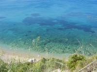 Baia di Guidaloca - vista sul mare - 6 maggio 2012  - Castellammare del golfo (353 clic)