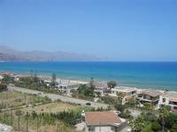 Zona Plaja - panorama ovest del Golfo di Castellammare - 30 luglio 2012  - Alcamo marina (337 clic)
