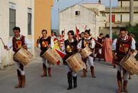 Contrada MATAROCCO - 5ª Rassegna del Folklore Siciliano - 5ª Sagra Saperi e Sapori di . . . Matarocco - 2° Festival Internazionale del Folklore - 5 agosto 2012 - Foto di NICOLO' PECORARO  - Marsala (311 clic)