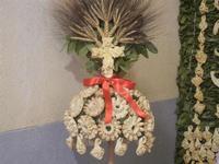 mostra Borgesi di San Giuseppe - altare e pani - particolare - 22 aprile 2012  - Calatafimi segesta (1677 clic)