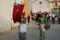 Contrada MATAROCCO - 5ª Rassegna del Folklore Siciliano - 5ª Sagra Saperi e Sapori di . . . Matarocco - 2° Festival Internazionale del Folklore - 5 agosto 2012 - Foto di NICOLO' PECORARO  - Marsala (330 clic)