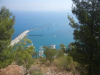 vista sul porto dal Belvedere - 15 agosto 2012  - Castellammare del golfo (227 clic)