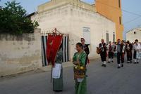 Contrada MATAROCCO - 5ª Rassegna del Folklore Siciliano - 5ª Sagra Saperi e Sapori di . . . Matarocco - 2° Festival Internazionale del Folklore - 5 agosto 2012 - Foto di NICOLO' PECORARO  - Marsala (412 clic)