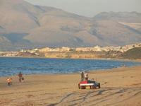 panorama est del golfo di Castellammare - Zona Canalotto - all'orizzonte Balestrate (PA) - 18 settembre 2012  - Alcamo marina (487 clic)