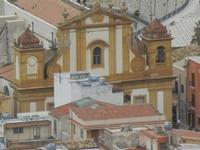 panorama dal Belvedere - Chiesa Madre dedicata alla Vergine SS. del Soccorso - 12 febbraio 2012  - Castellammare del golfo (332 clic)