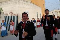 Contrada MATAROCCO - 5ª Rassegna del Folklore Siciliano - 5ª Sagra Saperi e Sapori di . . . Matarocco - 2° Festival Internazionale del Folklore - 5 agosto 2012 - Foto di NICOLO' PECORARO  - Marsala (357 clic)