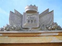 stemma - in Piazza Mercato del Pesce - 13 maggio 2012  - Trapani (599 clic)