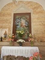 cappella di Maria SS. dei Miracoli nella Discesa al Santuario - 26 maggio 2012  - Alcamo (990 clic)