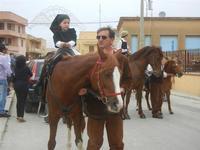 SPERONE - sfilata di cavalli - festa San Giuseppe Lavoratore - 29 aprile 2012  - Custonaci (523 clic)