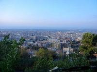 panorama città dal Monte Bonifato - 10 settembre 2012  - Alcamo (354 clic)