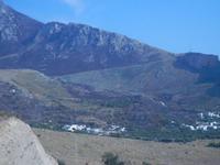 entroterra segnato dagli incendi - 23 agosto 2012  - Macari (338 clic)