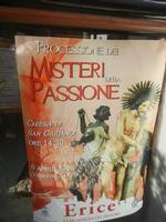 locandina Processione dei Misteri della Passione - 1 aprile 2012  - Erice (1132 clic)
