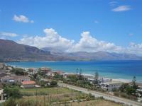 Zona Plaja - panorama ovest del Golfo di Castellammare - 24 luglio 2012  - Alcamo marina (355 clic)