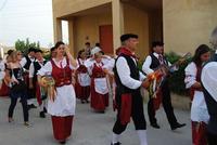 Contrada MATAROCCO - 5ª Rassegna del Folklore Siciliano - 5ª Sagra Saperi e Sapori di . . . Matarocco - 2° Festival Internazionale del Folklore - 5 agosto 2012 - Foto di NICOLO' PECORARO  - Marsala (351 clic)