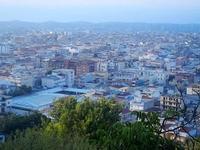 panorama città dal Monte Bonifato - 10 settembre 2012  - Alcamo (271 clic)