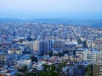 panorama città dal Monte Bonifato - 10 settembre 2012  - Alcamo (1035 clic)