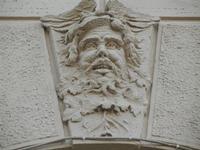 altorilievo sulla facciata del Palazzo del Comune - 1 aprile 2012  - Erice (529 clic)