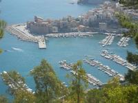 panorama dal Belvedere - porto e Castello a Mare - 14 agosto 2012  - Castellammare del golfo (292 clic)