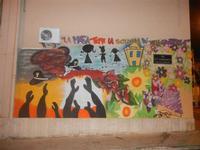 murales: la mafia teme la scuola più della giustizia - 3 luglio 2012  - Balestrate (483 clic)