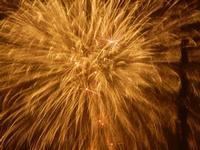 spettacolo pirotecnico - festeggiamenti in onore di Maria SS. dei Miracoli - 21 giugno 2012  - Alcamo (996 clic)