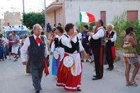 Contrada MATAROCCO - 5ª Rassegna del Folklore Siciliano - 5ª Sagra Saperi e Sapori di . . . Matarocco - 2° Festival Internazionale del Folklore - 5 agosto 2012 - Foto di NICOLO' PECORARO  - Marsala (292 clic)
