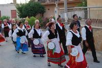 Contrada MATAROCCO - 5ª Rassegna del Folklore Siciliano - 5ª Sagra Saperi e Sapori di . . . Matarocco - 2° Festival Internazionale del Folklore - 5 agosto 2012 - Foto di NICOLO' PECORARO  - Marsala (360 clic)