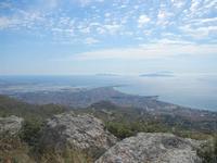 panorama Trapani, saline ed Isole Egadi - 3 giugno 2012  - Erice (395 clic)