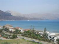 Zona Plaja - panorama ovest del Golfo di Castellammare - 29 luglio 2012  - Alcamo marina (357 clic)