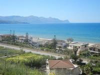 panorama ovest del Golfo di Castellammare Zona Plaja - 27 aprile 2012  - Alcamo marina (449 clic)