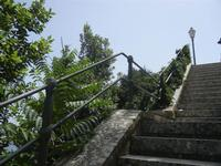 Giardino del Balio - scalinata - 5 agosto 2012  - Erice (381 clic)