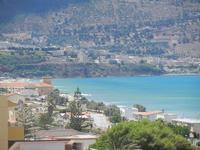 Zona Plaja - panorama ovest del Golfo di Castellammare e città - 24 luglio 2012  - Alcamo marina (369 clic)