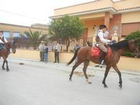 SPERONE - sfilata di cavalli - festa San Giuseppe Lavoratore - 29 aprile 2012  - Custonaci (391 clic)