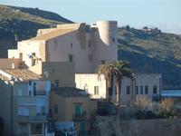 Castello a Mare panorama da Piazza Petrolo - 13 gennaio 2014  - Castellammare del golfo (380 clic)