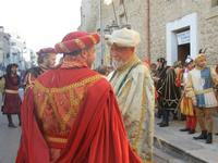 Corteo Rievocazione Storica dell'investitura a 1° Principe della Città di Carlo d'Aragona e Tagliavia - 26 maggio 2012  - Castelvetrano (256 clic)