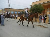 SPERONE - sfilata di cavalli - festa San Giuseppe Lavoratore - 29 aprile 2012  - Custonaci (570 clic)
